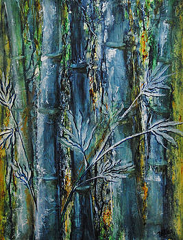 Bamboo Forest by Vallee Johnson