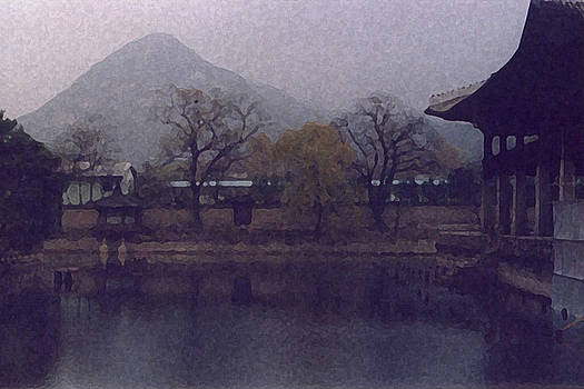 Bamboo Lake South Korea by Leonard Rosenfield