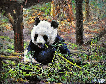 Bamboo Loving by Eileen  Fong