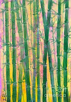 Bamboo wood  by Wonju Hulse