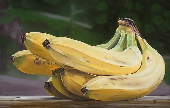 Banana Bunch by Kevin Aita