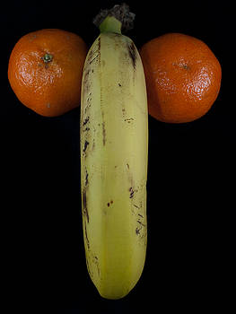 Banana with Oranges by Felix M Cobos