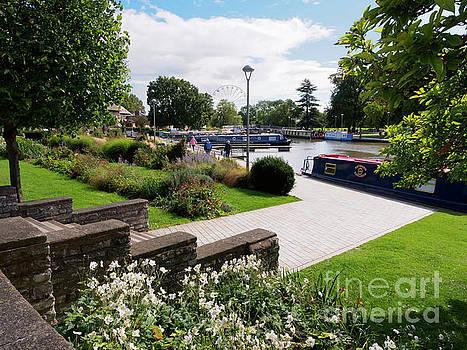 Bancroft Gardens in Stratford upon Avon Warwickshire by Louise Heusinkveld