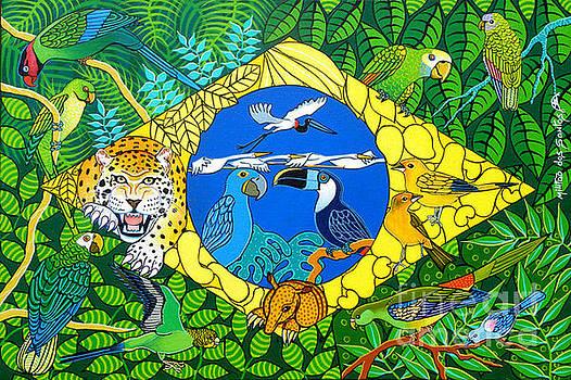 Bandeira Brasileira by Militao Dos Santos Militao