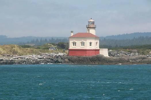 Bandon Lighthouse by James Scotti