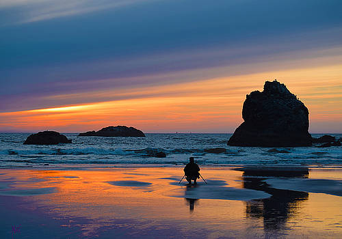 Bandon Sunset Photographer by Michele Avanti