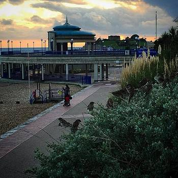 #bandstand #birds #sunset #view by Natalie Anne