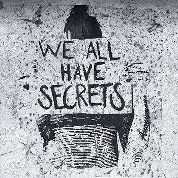 #bandwhite #secrets #graffiti #urban by Natalie Anne