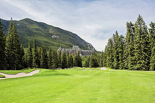 Banff Springs Golf and the Castle by Scott Pellegrin