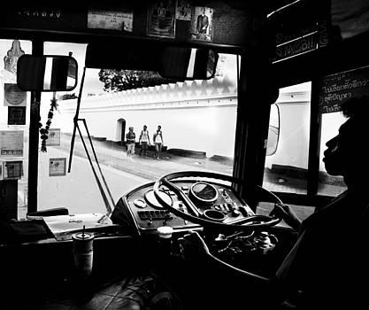 Bangkok Bus Driver by Leo Bello
