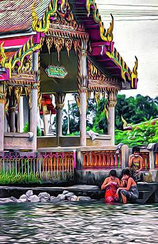 Steve Harrington - Bangkok Khlong - Daily Life - Paint
