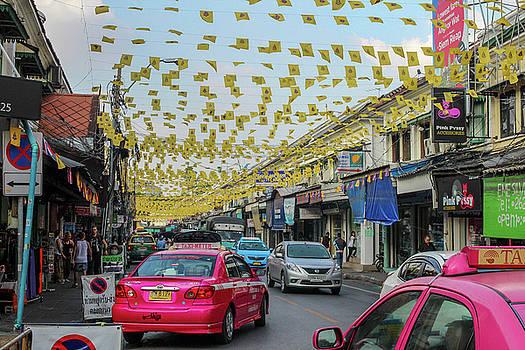 Bangkok Street by Ehab Amin