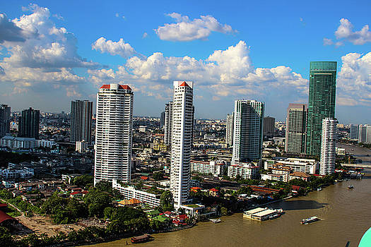 Bangkok Towers by Ehab Amin