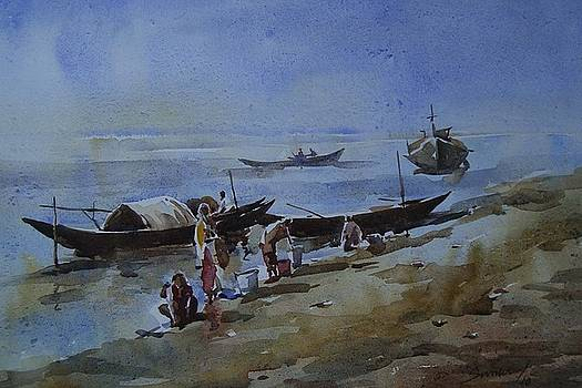 Bank of Padma-2 by Suman Sarkar