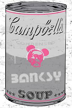 Banksy Soup by Ken Surman