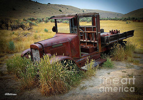 Bannack Montana Old Truck by Veronica Batterson