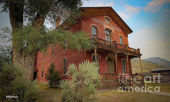 Bannack Montana The Hotel Meade by Veronica Batterson
