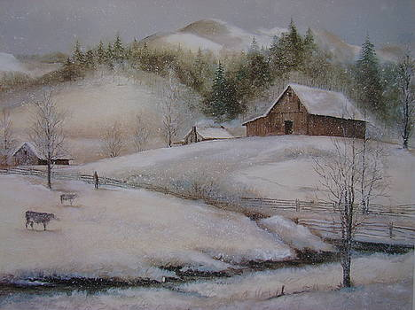 Banner Elk Winter by Charles Roy Smith