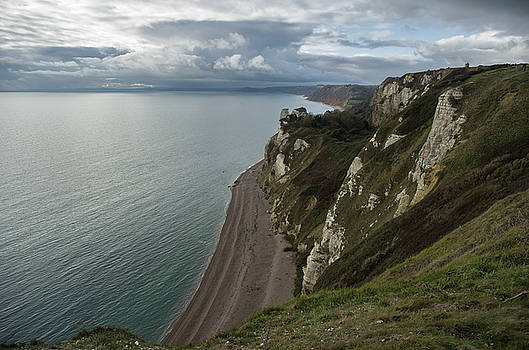 Banscombe beach from Beer Head by Pete Hemington