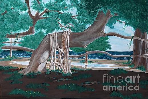 Banyan Tree By The Sea by Jennifer Niemiroski