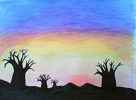 Baobabs by Maina  Kabiru
