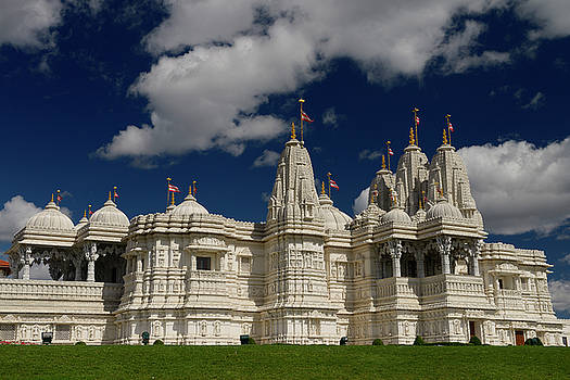 Reimar Gaertner - BAPS Shri Swaminarayan Mandir Hindu Temple hand carved in India