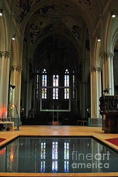 Jost Houk - Baptistry in Bruges