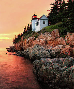 Bar Harbor Light House by Mingwei Li