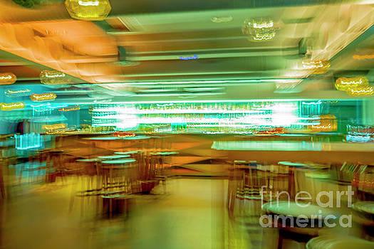 Bar in Motion Blur by Mats Silvan