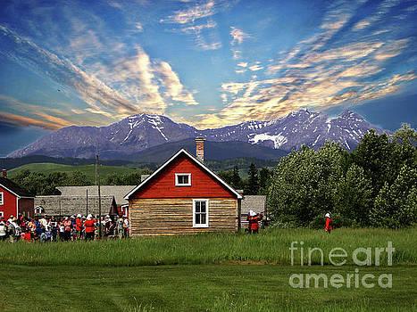 Bar U Ranch In Magnificent Alberta II by Al Bourassa