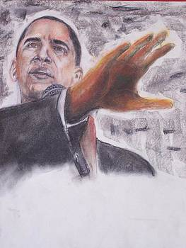 Barack Obama by Darryl Hines