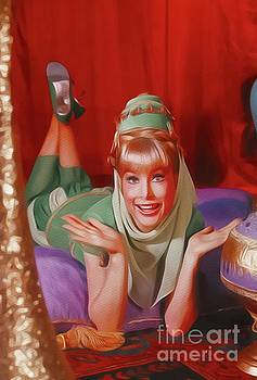 John Springfield - Barbara Eden, Vintage Actress