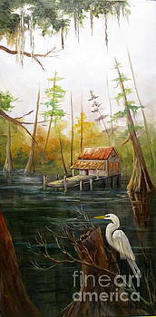 Barbara's Bayou I by Barbara Haviland