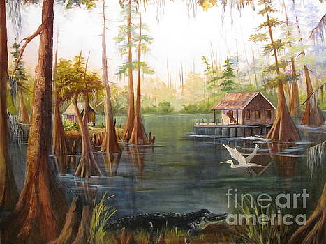 Barbara's Bayou II by Barbara Haviland