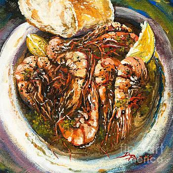 Barbequed Shrimp by Dianne Parks