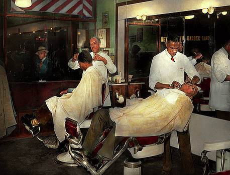 Mike Savad - Barber - A time honored tradition 1941