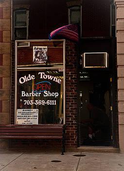 Barber Shop by George Lovelace