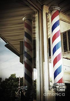 Barbershop Pole by Leara Nicole Morris-Clark