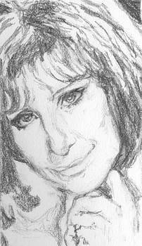 Barbra Streisand by Maya Lewis
