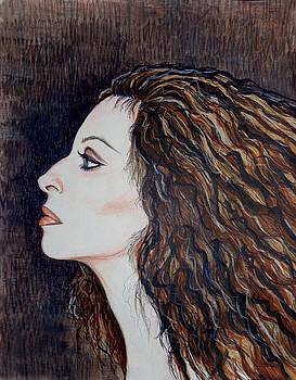 Barbra Streisand by Tara Hutton