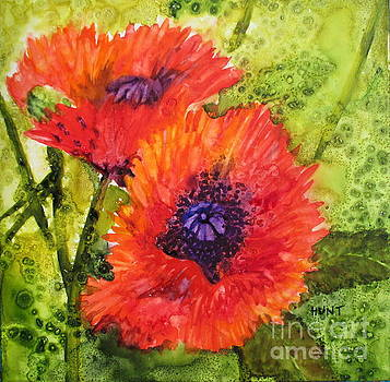 Barbs Poppies by Shirley Braithwaite Hunt