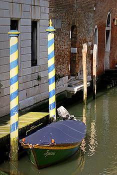 ITALIAN ART - Barca Blue