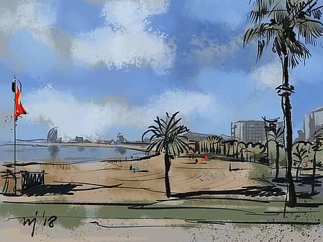 Barcelona 03 by Ugljesa Janjic