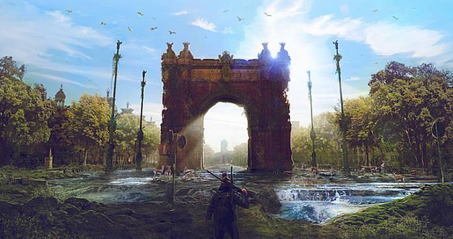 Barcelona Aftermath Arc de Triomf by Guillem H Pongiluppi