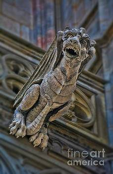 Barcelona Dragon Gargoyle by Henry Kowalski
