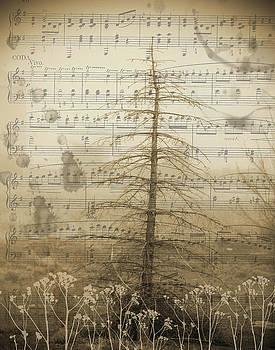 Bare Tree in Winter by Nadine Berg