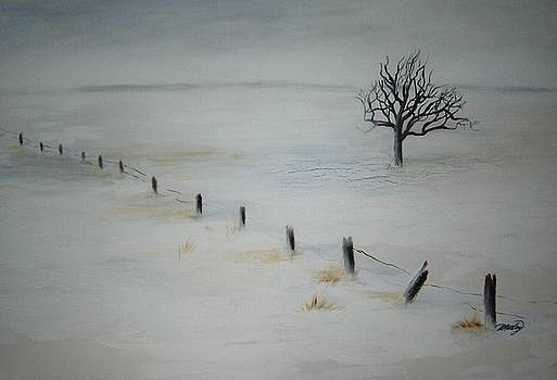 Bare Tree by Vivian  Mosley
