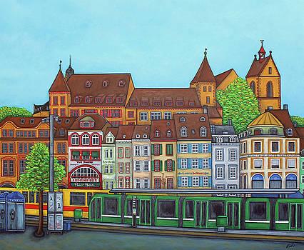 Basel, Barfusserplatz Rendez-vous by Lisa Lorenz