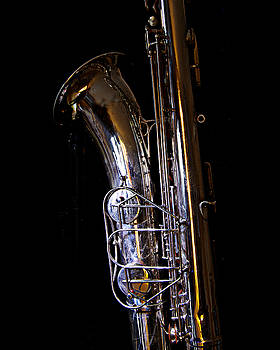 Bari Sax by Jim Mathis