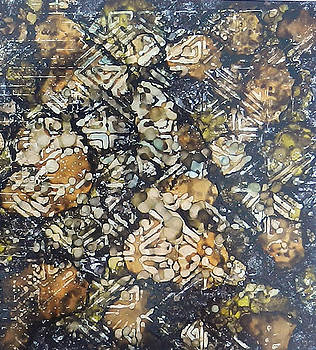 Bark Batik Ink #22 by Sarajane Helm